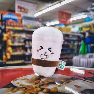 🚚 [4 for $5] 7-Eleven Limited Edition Lucky Plushies Big Gulp Cuppa Coffee App Lucky