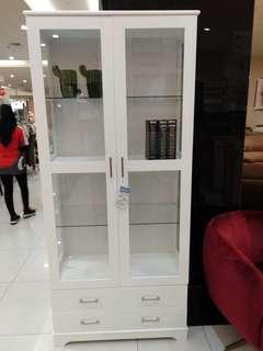Nedrick bookcase white