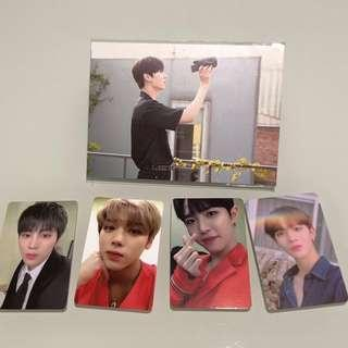 Wanna One Therefore Concert photocards/postcards