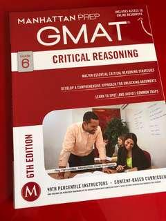 GMAT CRITICAL REASONING MANHATTAN PREP
