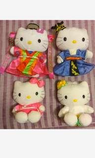 🚚 🌸Hello kitty娃娃4個合售