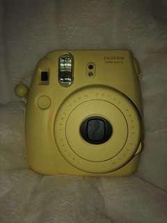 Yellow Instax Mini 8