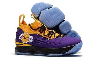 **FOR SALE LIMITED EDITION NIKE LEBRON 15 LAKERS FOR MEN OEM PREMIUM FOR ONLY P3,149.75!!!**