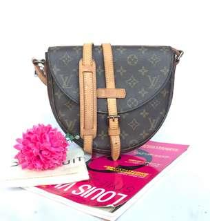 AUTHENTIC LOUIS VUITTON MONOGRAM SHANTI MM SHOULDER BAG