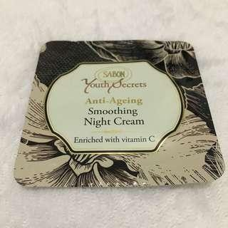 🌟Sabon Anit-Ageing Smoothing Night Cream Sample