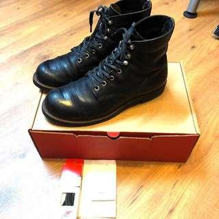Authentic Red Wing Iron Ranger Boots