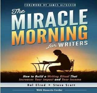 ( EBOOK ) The Miracle Morning for Writers
