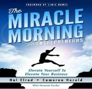 ( EBOOK ) The Miracle Morning for Entrepreneurs