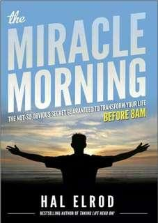 ( EBOOK ) The Miracle Morning: The Not-So-Obvious Secret