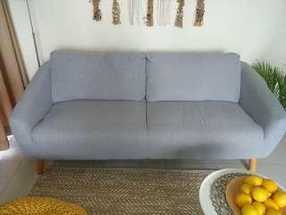 🚚 2 Seater Sofa FREE Delivery 190x80x70