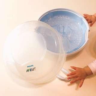 🚚 Avent 微波爐用奶瓶消毒鍋