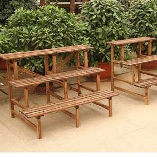 Plant Rack\ Stand\ Shelf - 3 Level 120cm