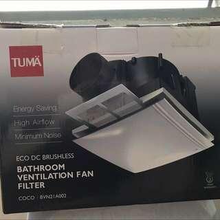 Tuma Bathroom ventilation fan