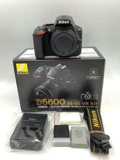 🚚 尼康 Nikon D5600 Body 單機身 保固中 DSLR 二手