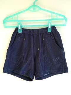🚚 專櫃ELLE深藍色仿牛仔短褲
