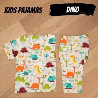 Dino kids pajamas