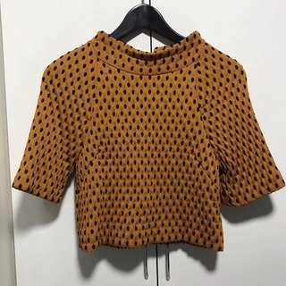 H&M polka dots Outer Wear top