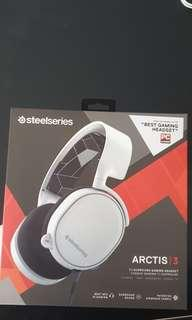 Steel Series Arctis 3 White