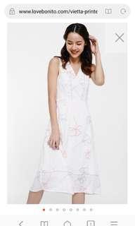 Love Bonito Vietta Printed Midi Dress