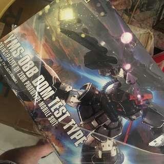 Gundam Dom Test Type