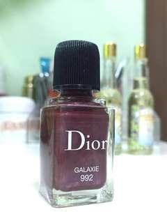 💯% New ! Dior 甲油 Galaxie 992 Nail polish