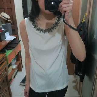 Unbranded Jewelled Top