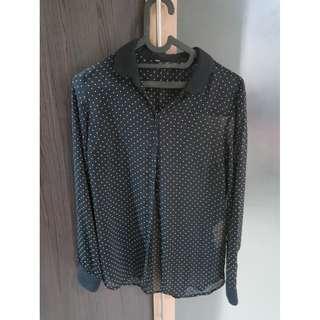 Zara Polkadot Shirt