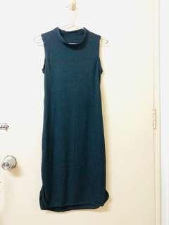 Black Sleeveless Casual Dress from Bangkok
