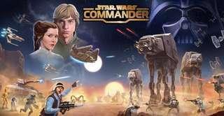 🚚 Star wars commander prestige account many droids