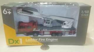 TINY Dx1 Ladder Fire Engine 雲梯消防車模型 1/50