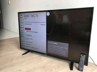 "LG 43"" TV for sale"
