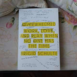 Overwhelmed: Work, Play, Love When No One Has The Time book by Brigid Schulte
