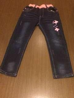 女童牛仔褲 Girl jean
