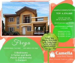 5BR/3T&B House & Lot in Camella Dos Rios Trails, Cabuyao Laguna