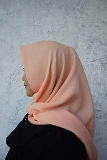 @hijabeauty_store CORNSKIN SQUARE (PEACH)