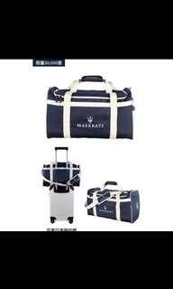 瑪莎拉蒂旅行袋