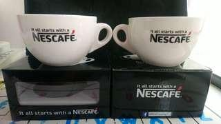 Nescafe coffee mug new x 2