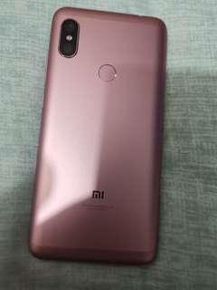 【出售】  紅米Note6pro 玫瑰金色 (4g/64)雙卡機  雙4G 人臉辨識
