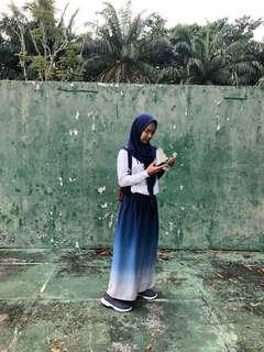 @hijabeauty_store OMBRE SKIRT