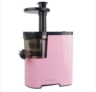 Mayer Slow Juicer Pink Color