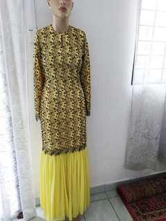 Kurung Moden Lace (Custom made)