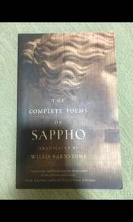 🚚 Complete poems of sappho