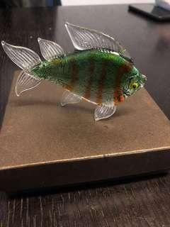 🚚 Murano glass fish