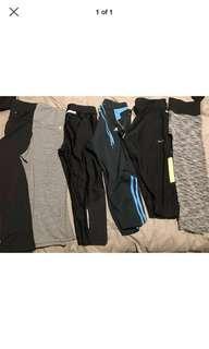 All 6 Gym leggings for 25$