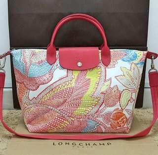 Authentic Longchamp Fleurs De Ravello Bag