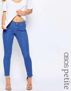 ASOS Petite Low Rise Skinny Jeans