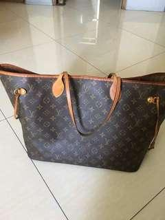 Luis Vuitton Neverfull size GM