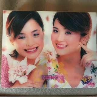 "Twins ""Yes Card"" (見圖, 已100%保存好), HKD$100"