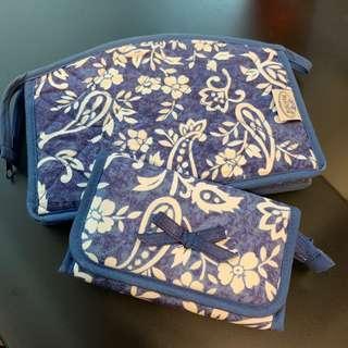 Naraya 藍色花袋