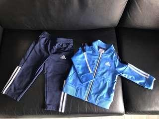 Adidas baby truck suit